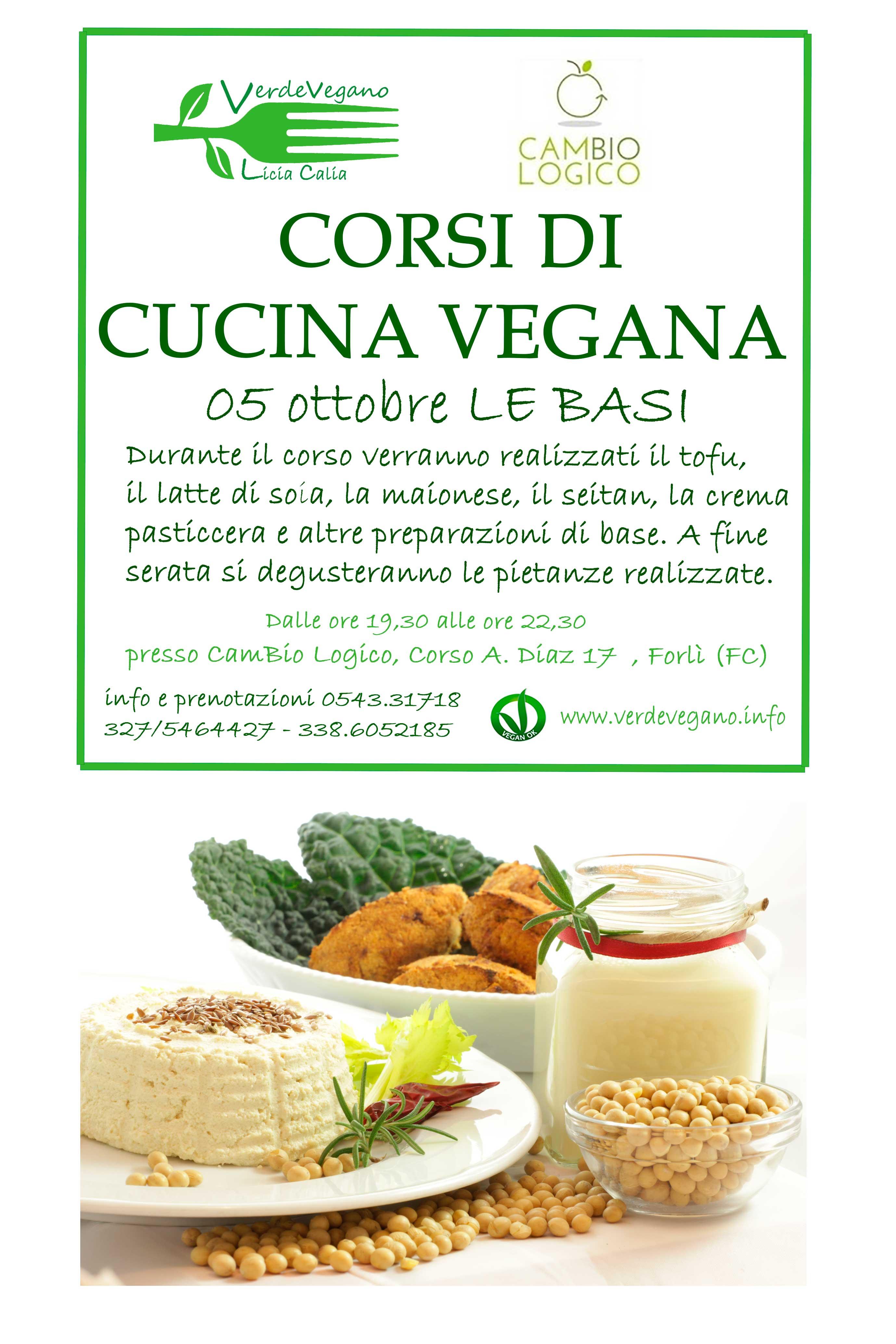 corso di cucina vegana | verdevegano.info - Corso Cucina Vegetariana