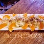 Green crock