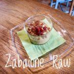 Zabaione raw